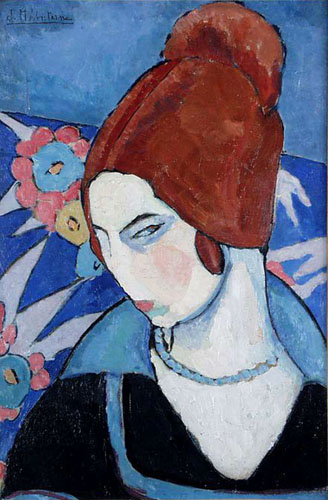 Jeanne Hébuterne - Autoportrait