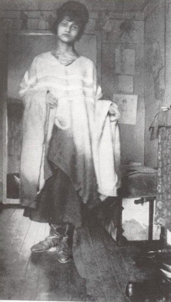 Jeanne Hébuterne Haricot-Rouge in Les Montparnos